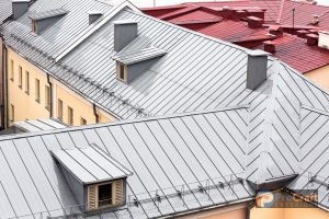 Metal Roofing Systems with Standing Seams