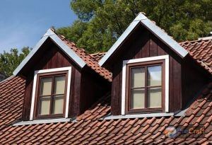 Silver Gable Flashing