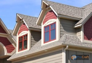 Red Architectural Shingles
