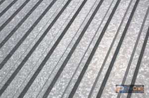 Sheet of Steel Roofing